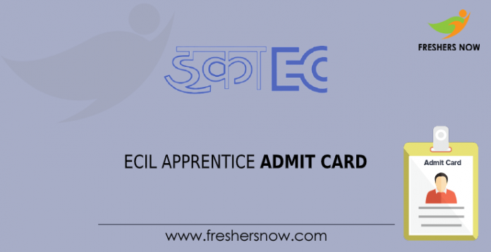 ecil apprentice admit card