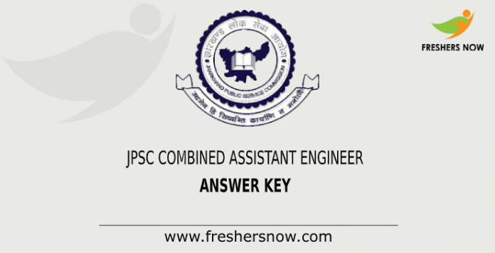 JPSC Assistant Engineer Answer Key