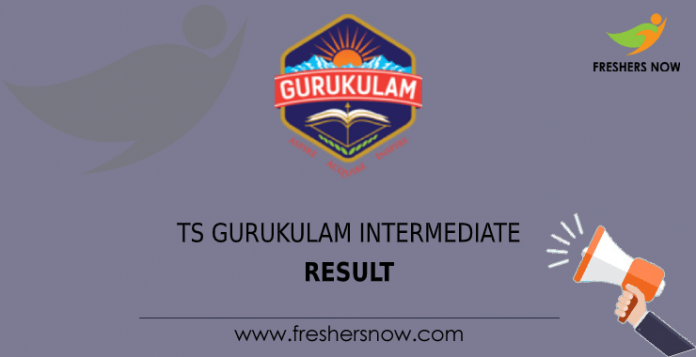 ts gurukulam intermediate result
