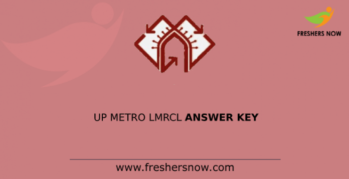 up metro lmrcl answer key