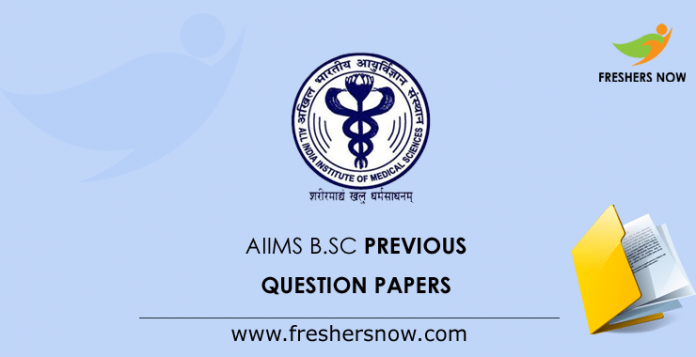AIIMS B.Sc Nursing Previous Question Papers
