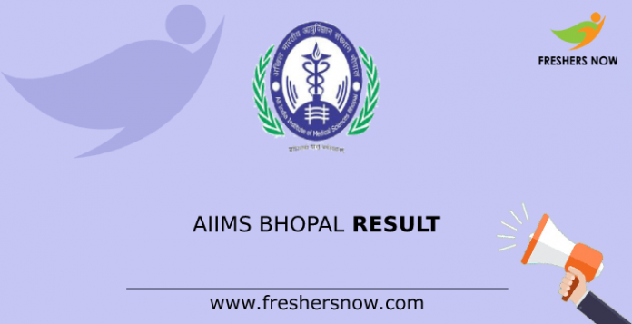AIIMS Bhopal Result