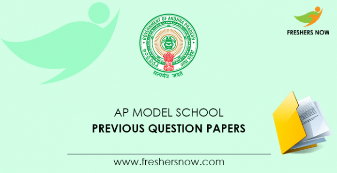 AP Model School Previous Question Papers