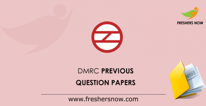 DMRC Previous Question Papers