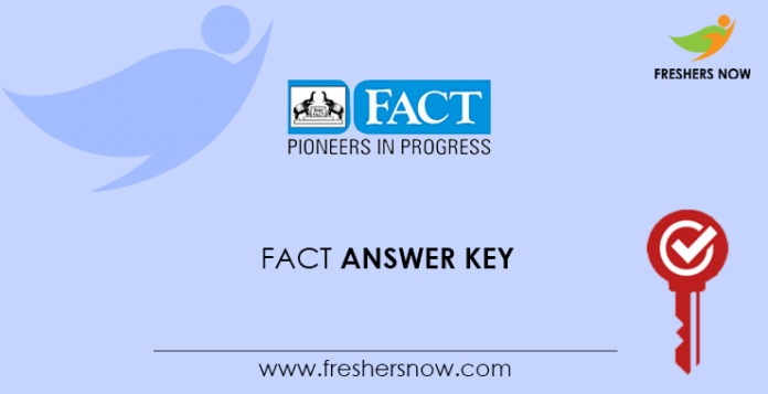 FACT Answer Key