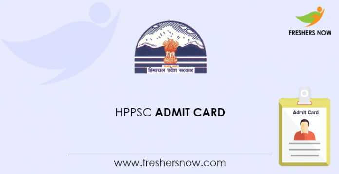 HPPSC admission card