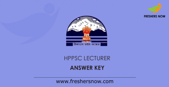 HPPSC-Lecturer-Answer-Key