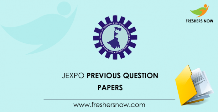 JEXPOPrevious Question Papers