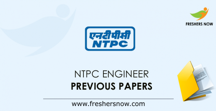 NTPC Engineer Previous Question Papers