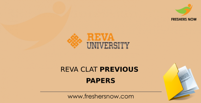 REVA CLAT Previous Question Papers