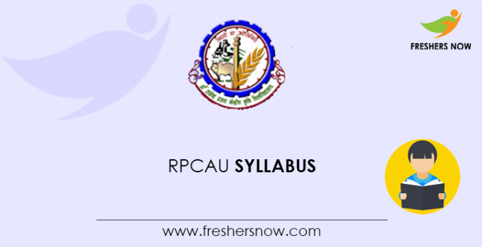 RPCAU LDC Syllabus 2020