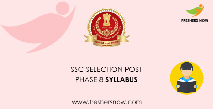 2020 study program after SSC selection phase 8