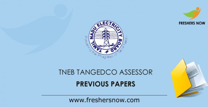 TNEB TANGEDCO Assessor Previous Question Papers