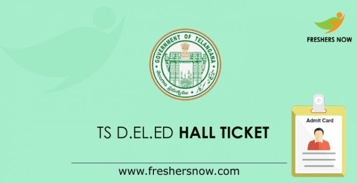 TS D.El.Ed Hall Ticket