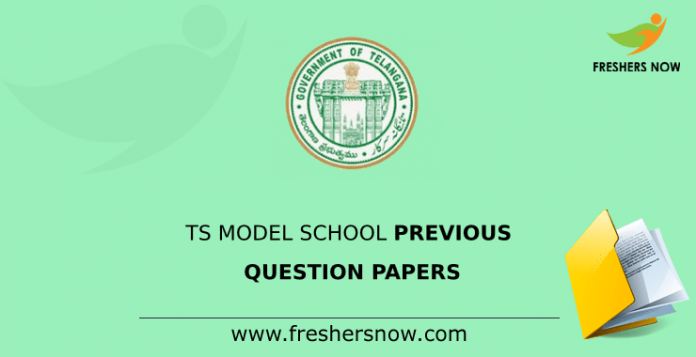 TS Model School Previous Question Papers