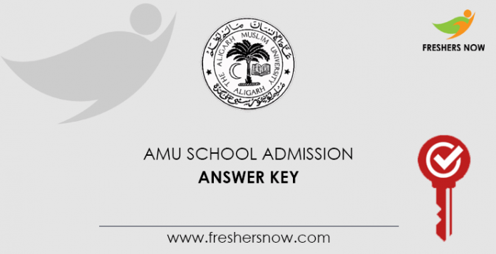 AMU School Admission Answer Key