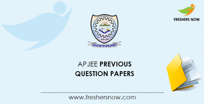 APJEE Previous Question Papers