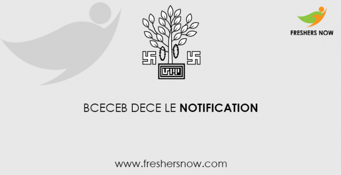 BCECEB DECE LE Notification