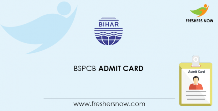 BSPCB Admit Card