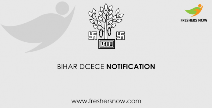 Bihar DCECE Notification