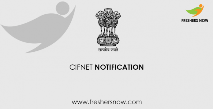 CIFNET Notification