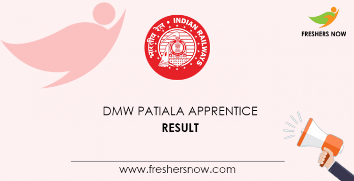 DMW Patiala Apprentice Result