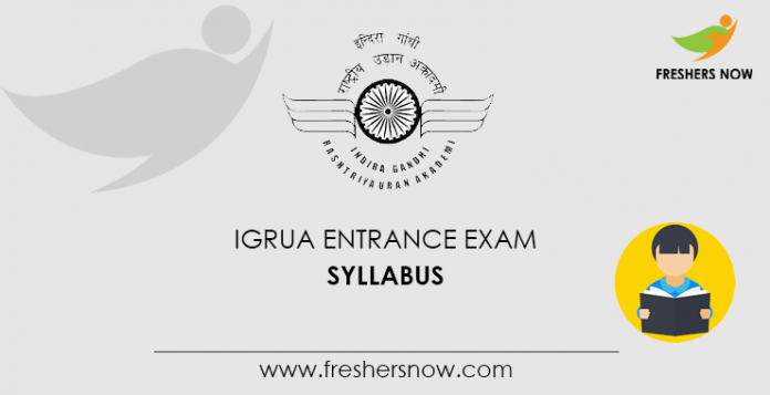 IGRUA Entrance Exam Syllabus