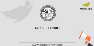 JAC 10th Result