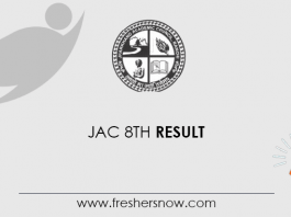 JAC 8th Result