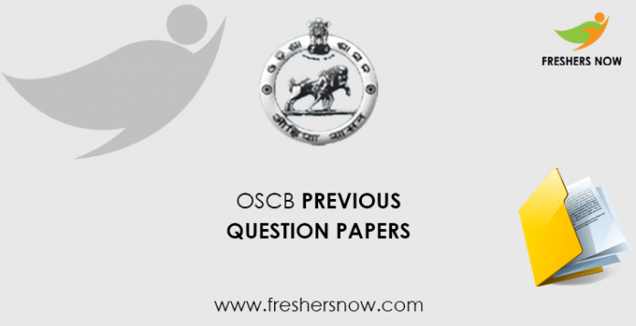 OSCB Banking Assistant Previous Question Papers