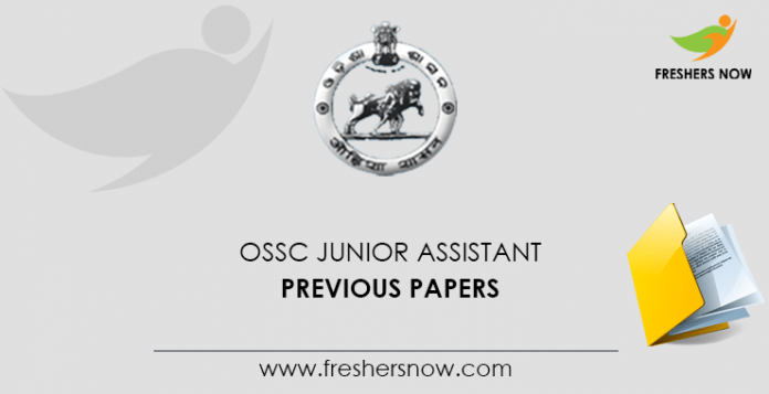 OSSC Junior Assistant Previous Question Papers