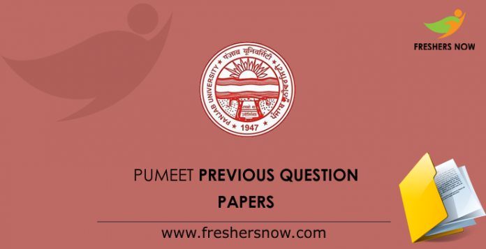 PUMEET Previous Question Papers
