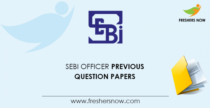 SEBI Officer Previous Question Papers