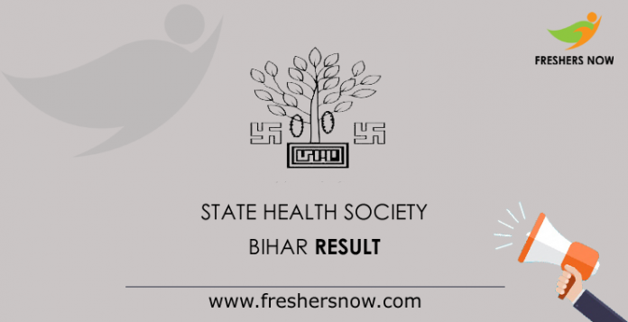 State-Health-Society-Bihar-Result