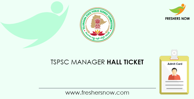 TSPSC Manager Hall Ticket