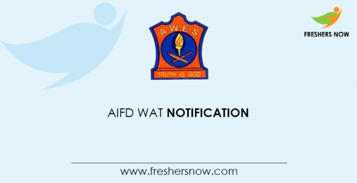 Aifd Wat 2020 Aifd Bangalore Online Form Extended Exam Date