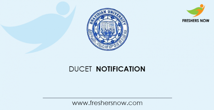 DUCET Notification