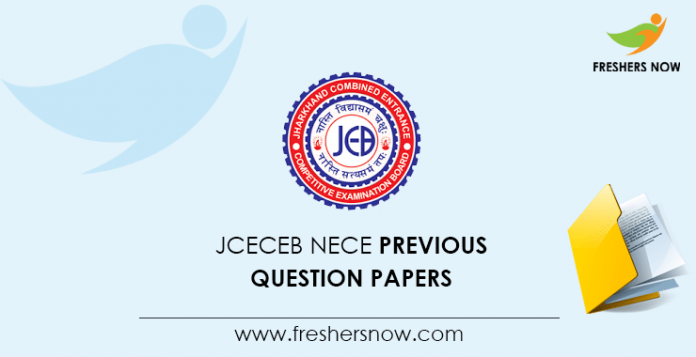 JCECEB NECE Previous Question Papers