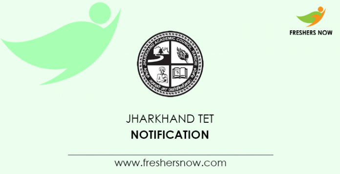 Jharkhand TET Notification
