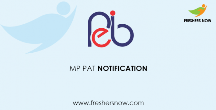 MP PAT Notification