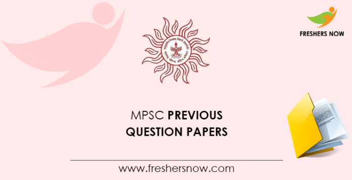 MPSC Previous Question Papers