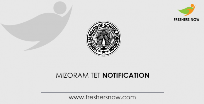 Mizoram TET Notification