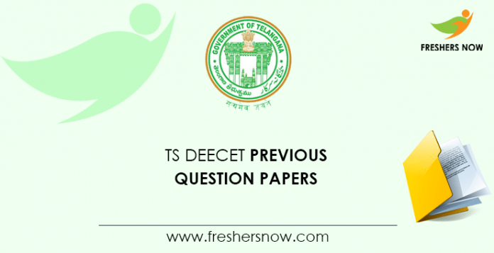 TS DEECET Previous Question Papers