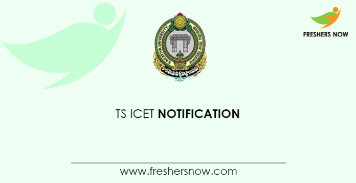 TS ICET Notification