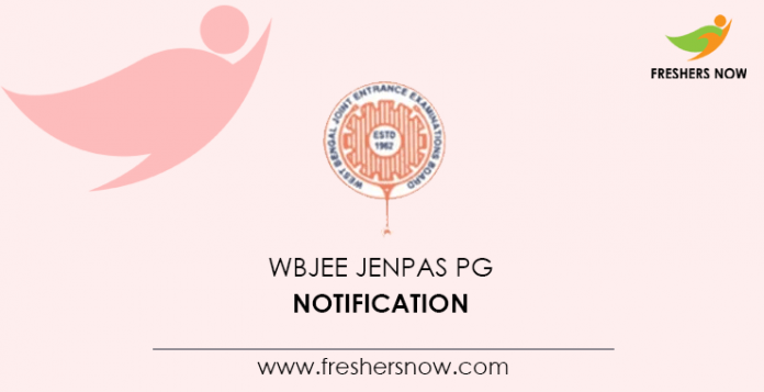 WBJEE JENPAS PG Notification