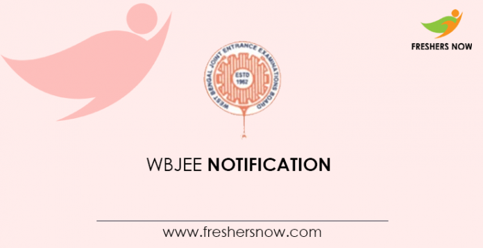 WBJEE Notification