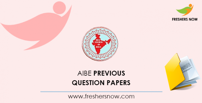 AIBE Previous Question Papers