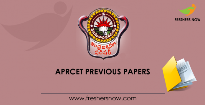 APRCET Previous Question Papers
