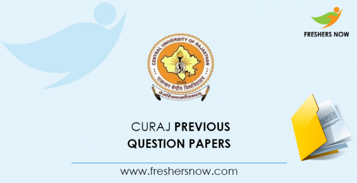CURAJ Previous Question Papers