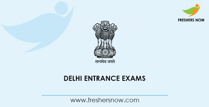 Delhi Entrance Exams